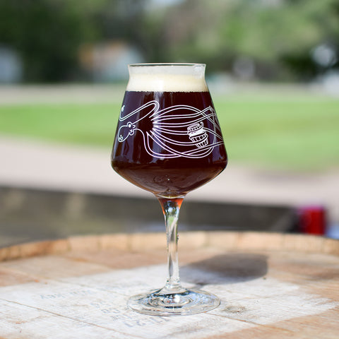Barrel-Aged Octopus Teku Glass