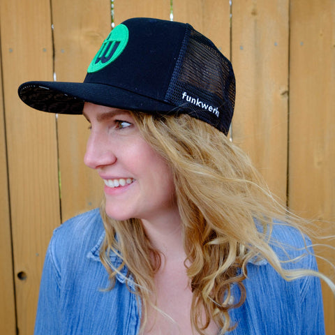 Black Weekender Trucker Hat