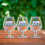 Keep Fort Collins Funky Tulip Glasses