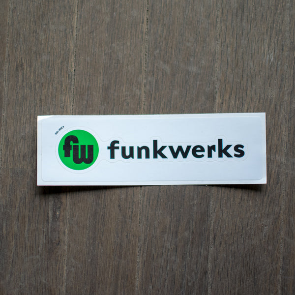 Color Funkwerks Logo Sticker