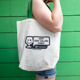 Keep Fort Collins Funky Tote Bag