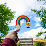 Beer Rainbow Sticker