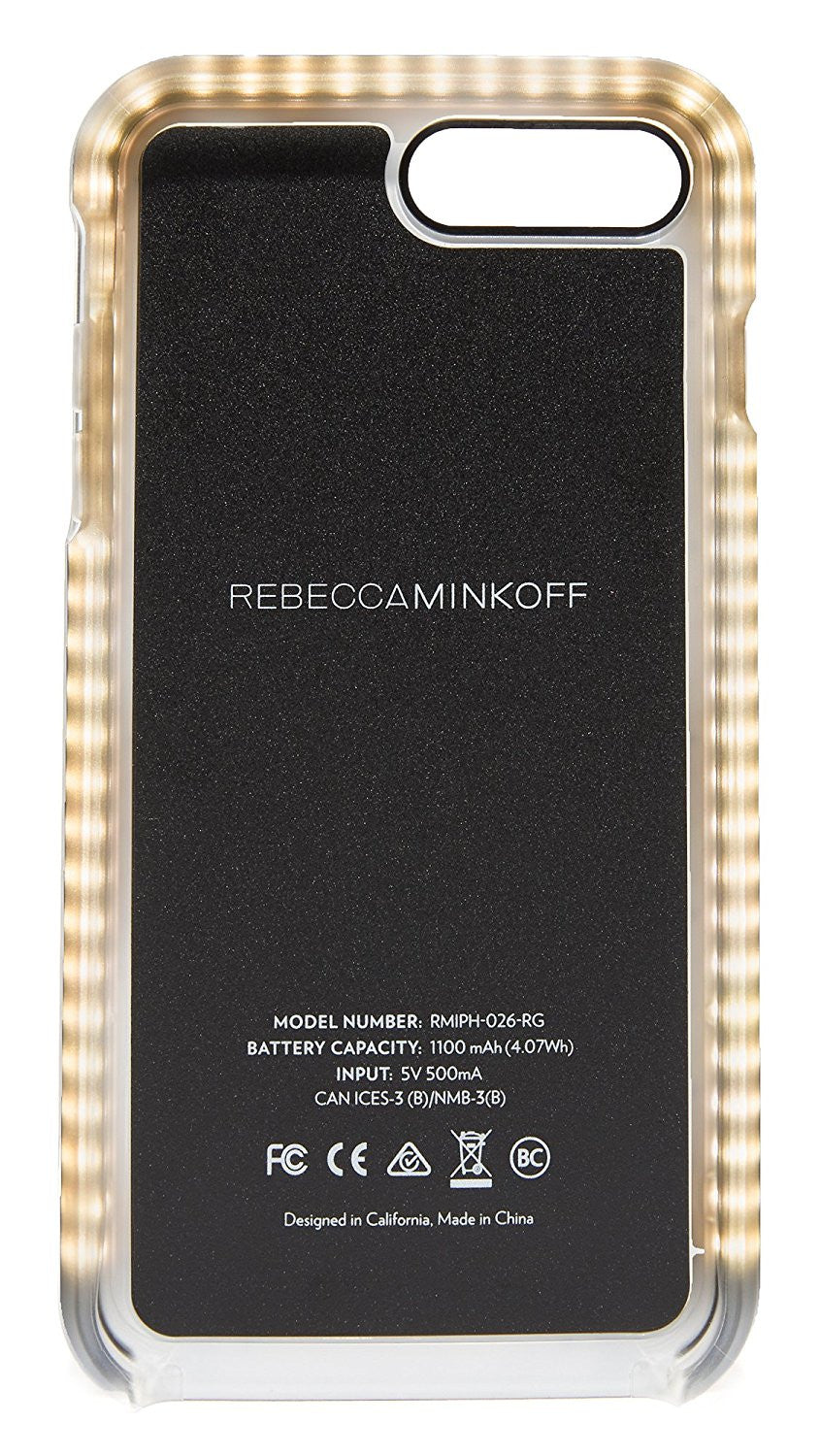 sale retailer eec0e d1dc4 Rebecca Minkoff - Glow Selfie Case for iPhone 8 Plus / 7 Plus