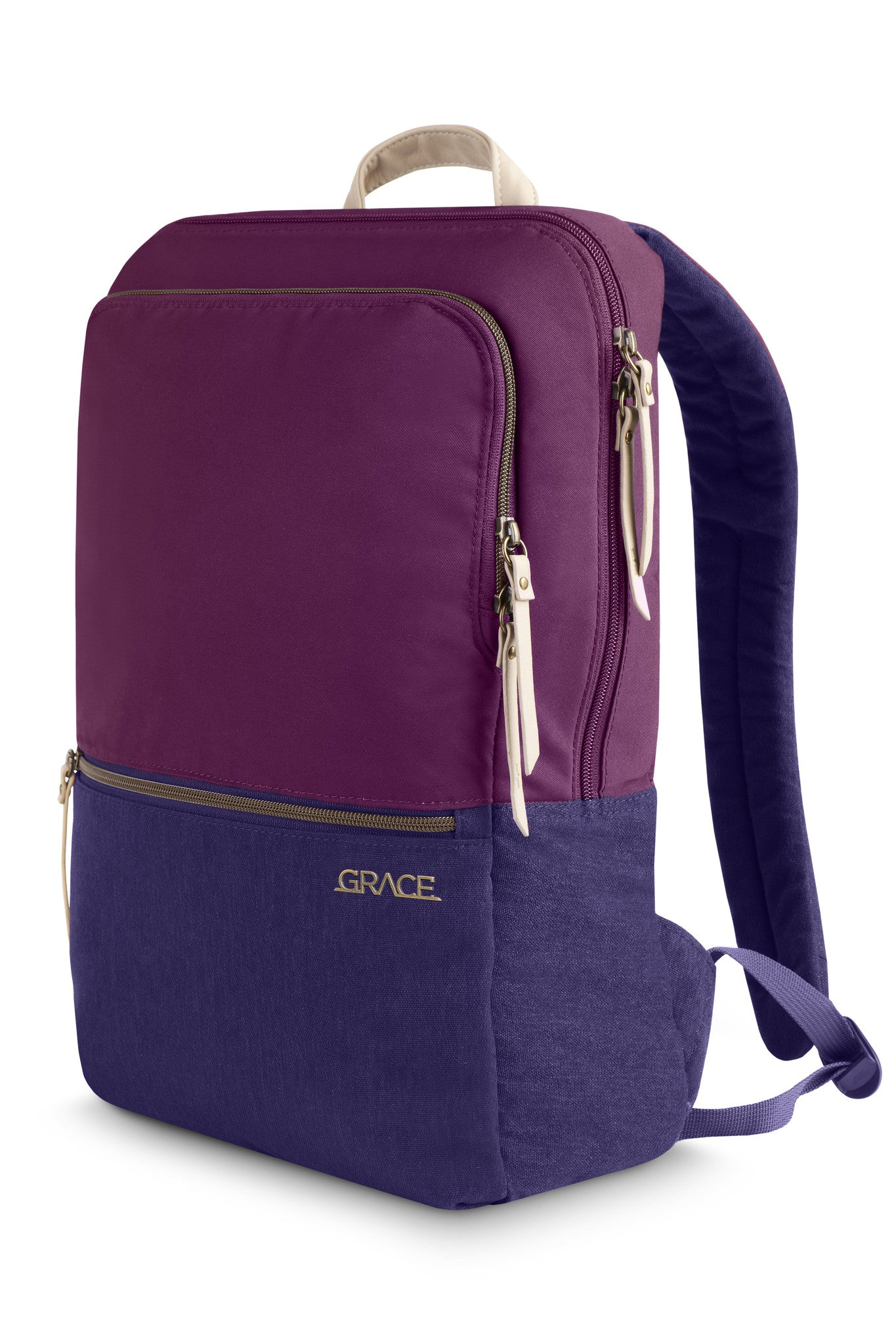 aab5d78dcf Dark Purple Laptop Backpack- Fenix Toulouse Handball