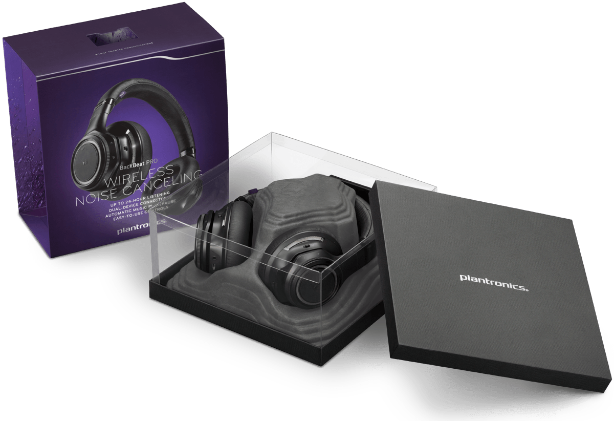 Plantronics - Backbeat PRO Bluetooth Stereo Headphones - PhoneSmart d9ddc8c8a8