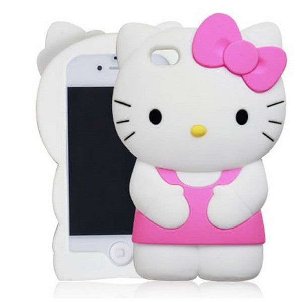 the best attitude aa23f 9ca63 Hello Kitty - Hello Kitty Silicone Case for iPhone SE / 5s / 5