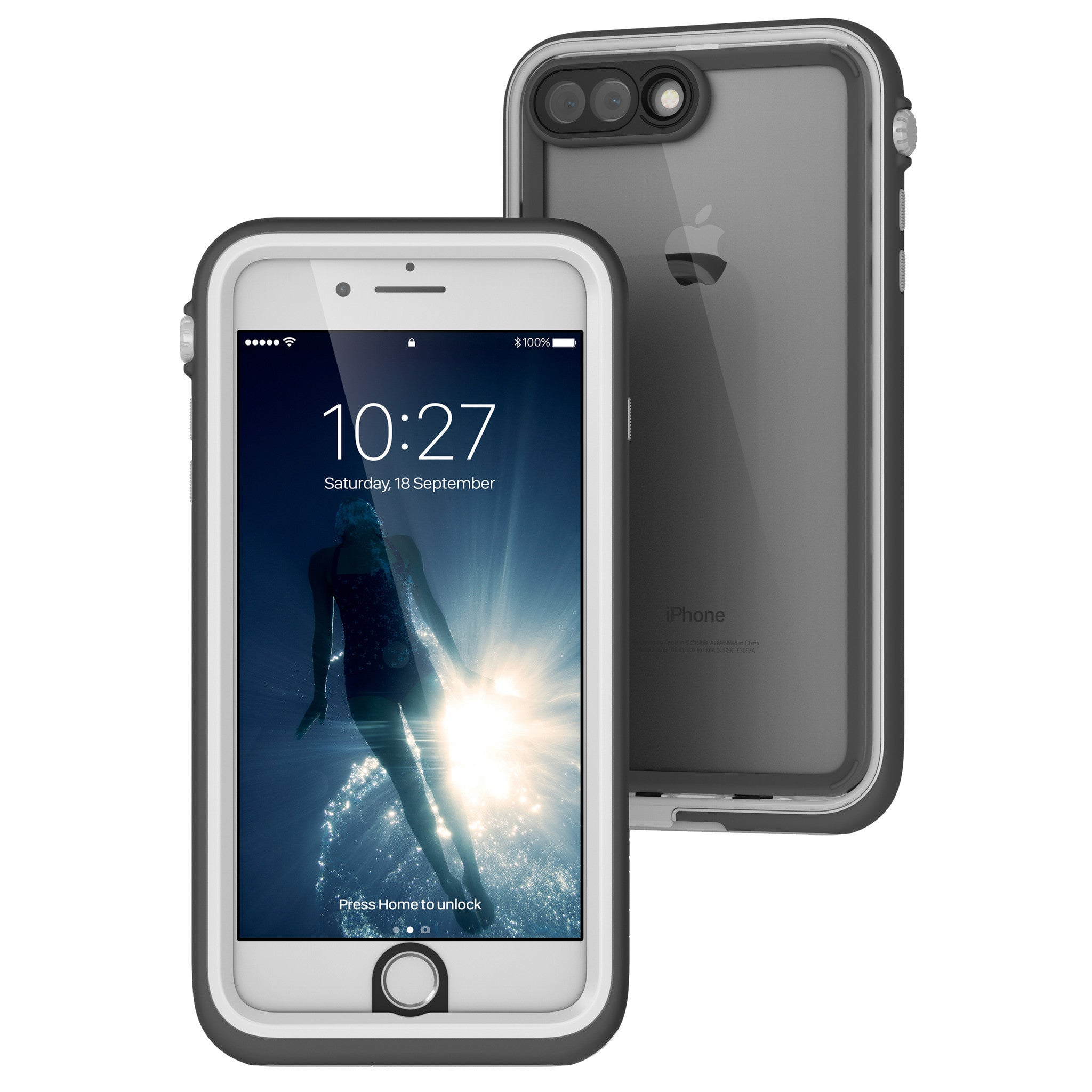 finest selection 074ba f7343 Catalyst - Waterproof Case for iPhone 8 Plus / 7 Plus
