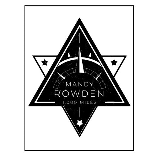 Mandy Rowden - 1000 Miles Sticker