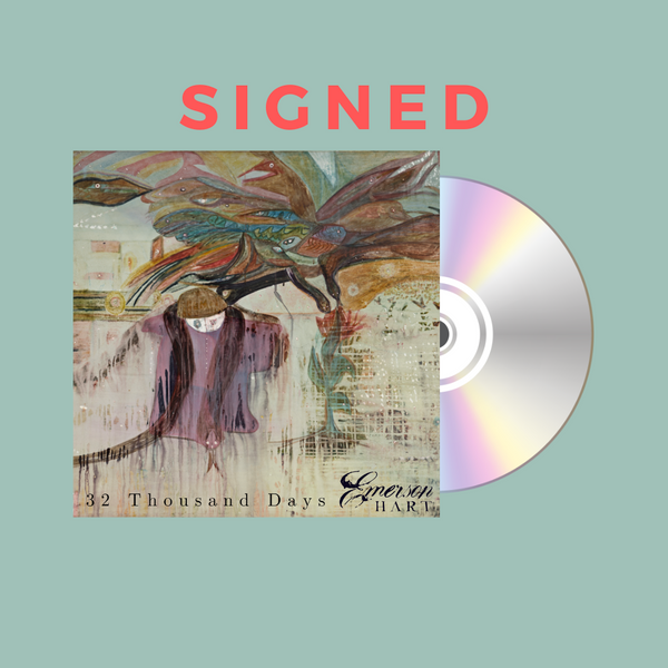 Emerson Hart - 32 Thousand Days Signed CD (PRESALE 12/13/2019)