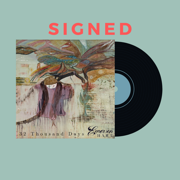 Emerson Hart - 32 Thousand Days Signed Vinyl (PRESALE January 2020)