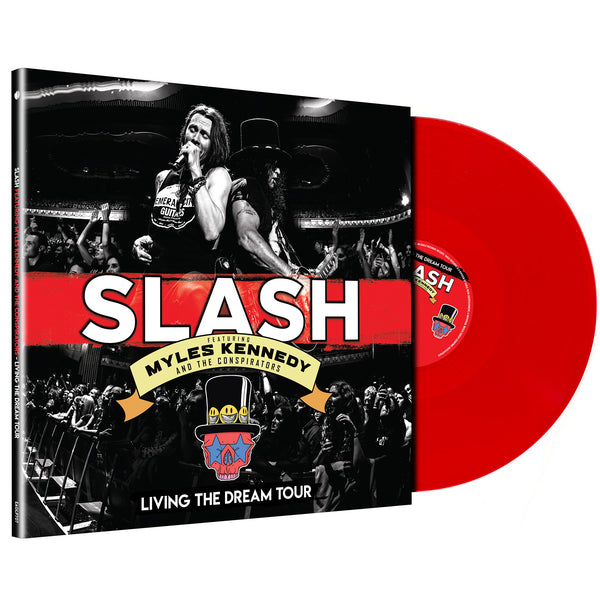 Slash Featuring Myles Kennedy & The Conspirators - Living The Dream Tour Limited Edition Red 3LP
