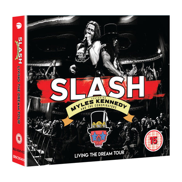 Slash Featuring Myles Kennedy & The Conspirators - Living The Dream Tour Blu-Ray+2CD (PRESALE)