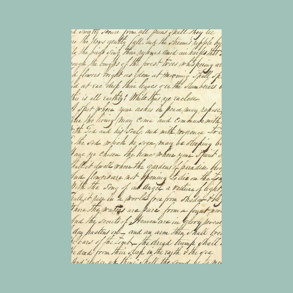 Emerson Hart - Handwritten Lyrics - Tonic or EH Catalog (PRESALE 12/13/2019)