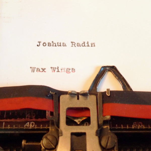 Joshua Radin - Wax Wings CD