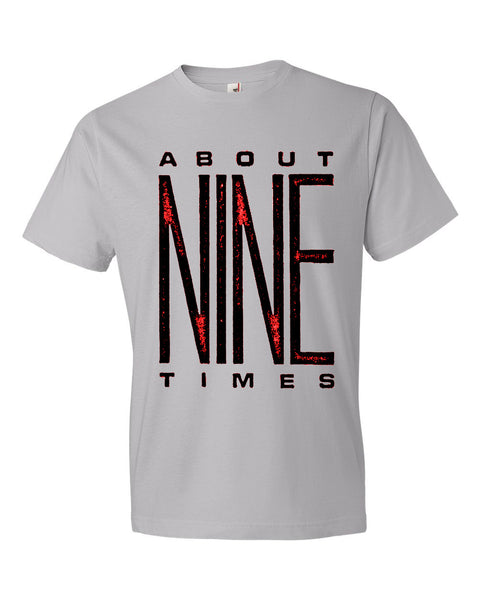 About 9 Times - Logo Tee