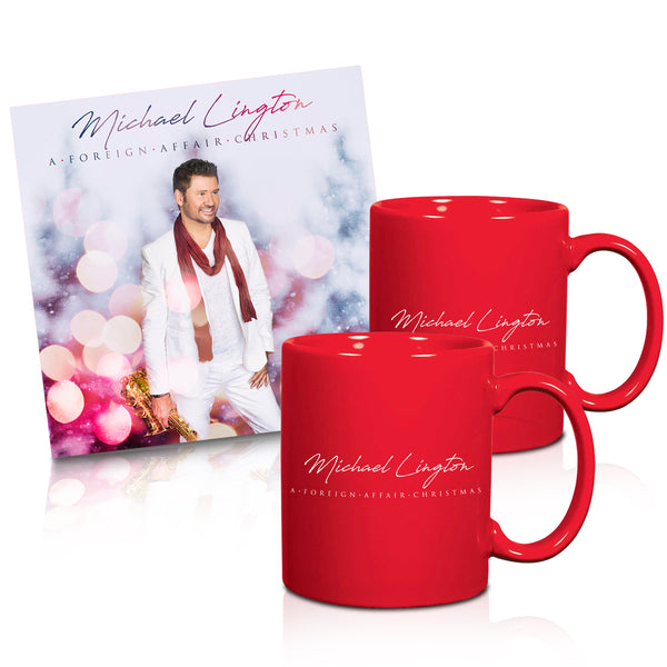 Michael Lington - A Foreign Affair Christmas Signed CD + Mug Set