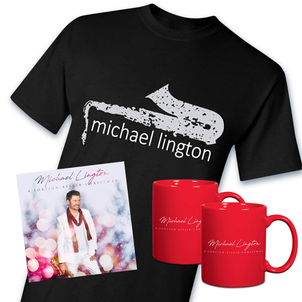 Michael Lington - A Foreign Affair Christmas Black Bundle