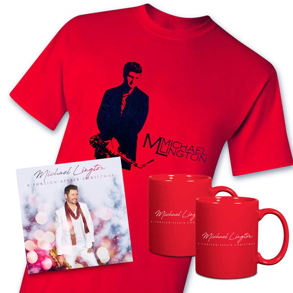 Michael Lington - A Foreign Affair Christmas Red Bundle