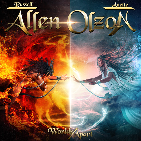 Allen/Olzon - Worlds Apart CD (PRESALE 03/06/20)
