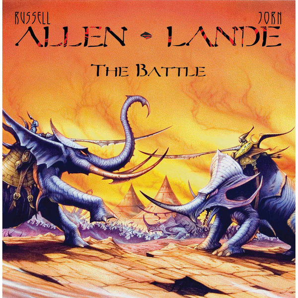 Allen Lande - The Battle CD (PRESALE 07/17/20)