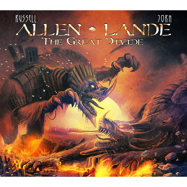 Allen Lande - The Great Divide CD (PRESALE 07/17/20)