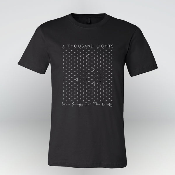 A Thousand Lights - Love Songs For The Lonely Tee