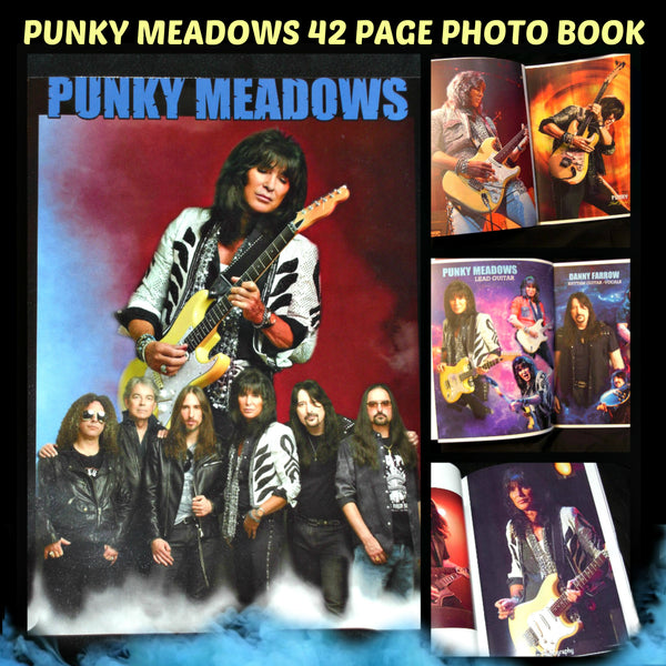 Punky Meadows - Limited Edition 42 Page Full Color Photo Book