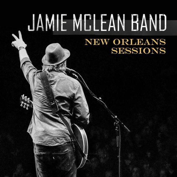 Jamie Mclean Band - New Orleans Sessions Signed CD
