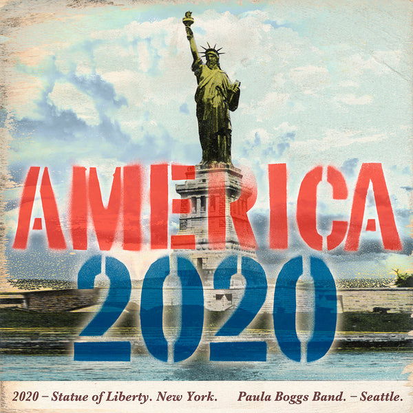 Paula Boggs Band - America 2020 Single Download