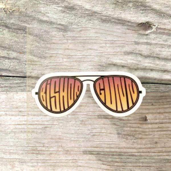 Bishop Gunn - Aviator Sticker