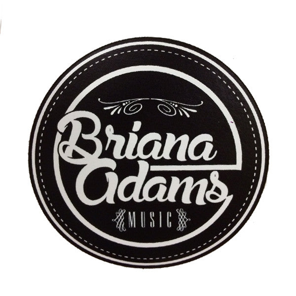 Briana Adams - BAM Logo Sticker