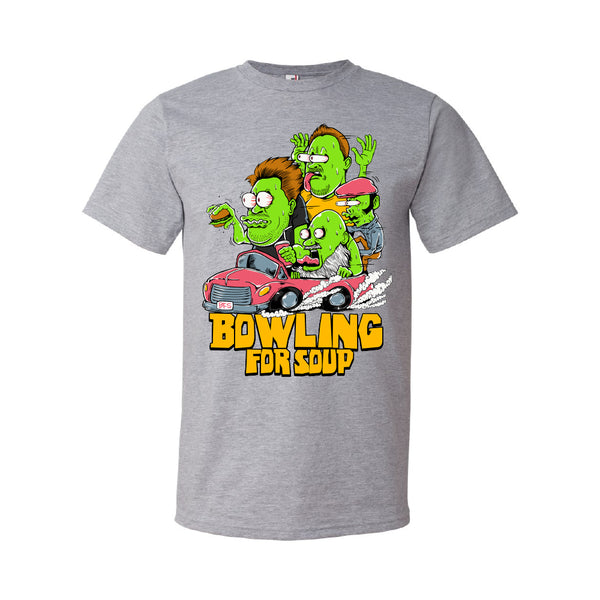 Bowling For Soup - Zombie Hot Rod Tee