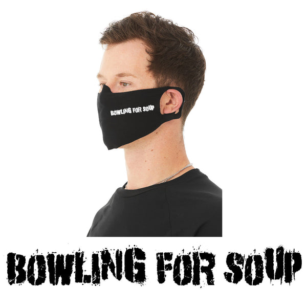 Bowling For Soup - Logo Face Cover (PRESALE 05/11/20)