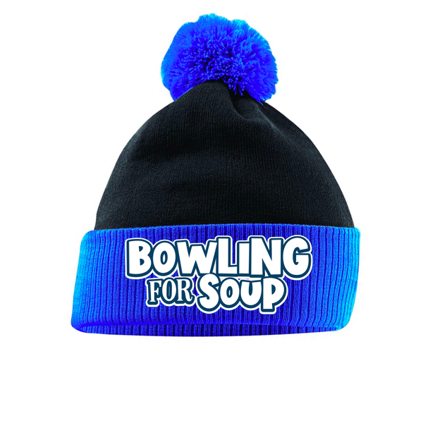 Bowling For Soup - Logo Bobble Beanie (PRESALE11/29/19)