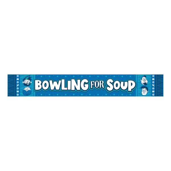 Bowling For Soup - Winter Scarf (PRESALE 12/06/19)