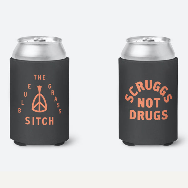 The Bluegrass Situation - Scruggs Not Drugs Koozie