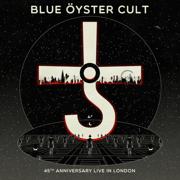 Blue Öyster Cult - 45th Anniversary - Live In London CD/DVD (PRESALE 08/07/20)