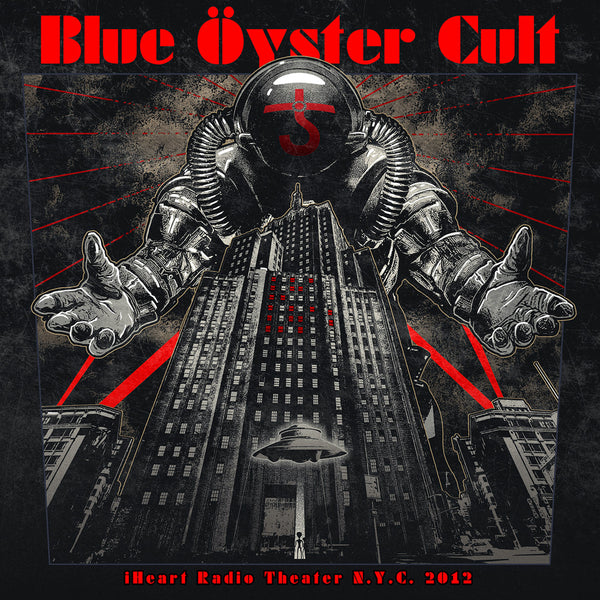 Blue Öyster Cult - iHeart Radio Theater N.Y.C. 2012 CD/DVD (PRESALE 06/12/20)