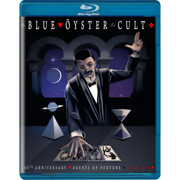 Blue Öyster Cult - 40th Anniversary - Agents Of Fortune Blu-Ray - Live 2016