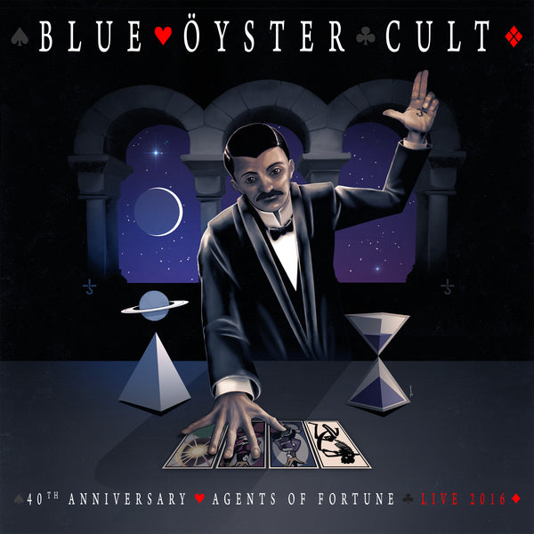 Blue Öyster Cult - 40th Anniversary - Agents Of Fortune  CD + DVD - Live 2016