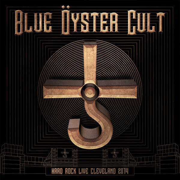 Blue Öyster Cult - Hard Rock Live Cleveland 2014 2CD + DVD (PRESALE 01/24/20)