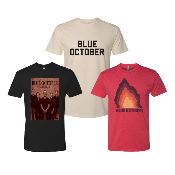 Blue October - Get Back Up Bundle (Cream)