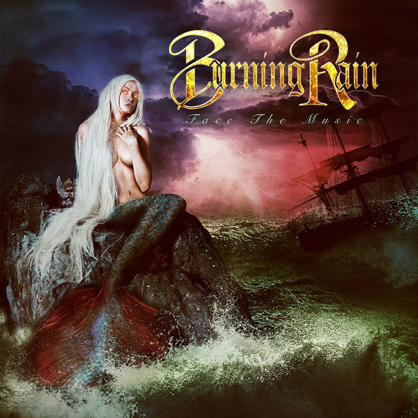 Burning Rain - Face The Music CD (07/17/20)
