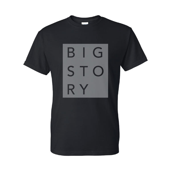 Big Story - Block Letter Tee (Black)