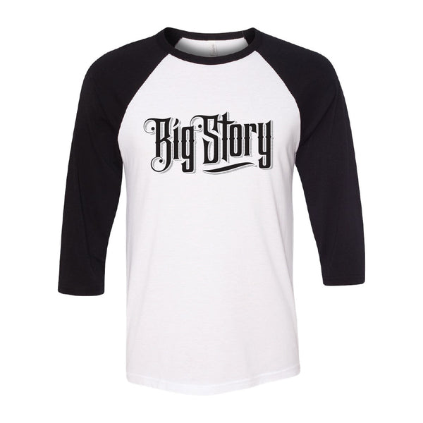 Big Story - Band Logo Baseball Tee