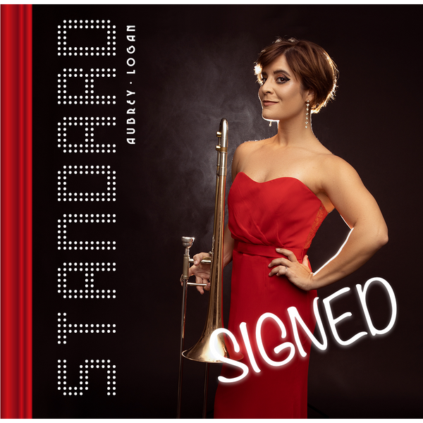 Aubrey Logan - Signed Standard CD (PRESALE 05/21/21)