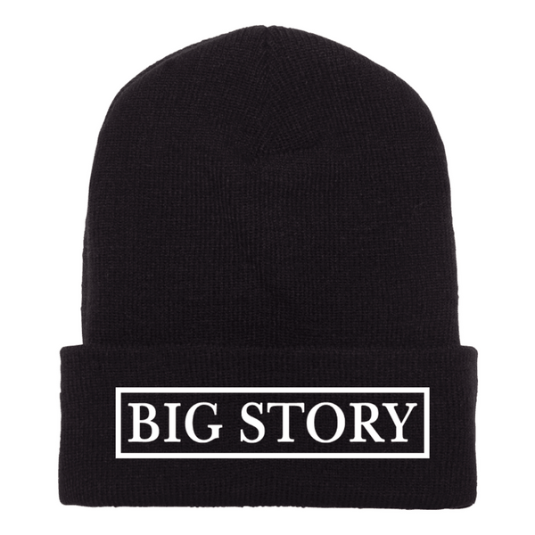Big Story - Beanie - Black (PRESALE LATE FEB 2021)