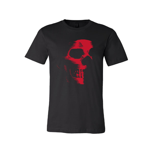 Black Note Graffiti - Skull Logo Tee