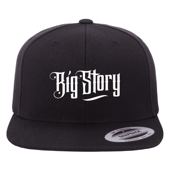 Big Story - SnapBack Logo Hat - Black (PRESALE MID MARCH 2021)