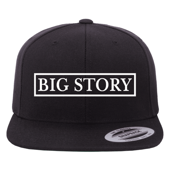 Big Story - SnapBack Hat - Black (PRESALE MID MARCH 2021)